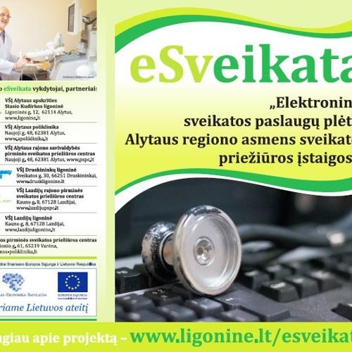 eSveikata. Alytaus apskrities Stasio Kudirkos ligoninės projekto radijo laida