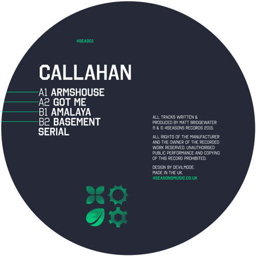 Callahan - Armshouse EP [4 Seasons Music]