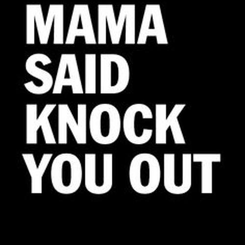 ll cool j mama said knock you out - 500×500