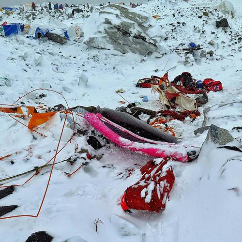 Frank Seibert: Wie Florian Nagl das Erdbeben am Mount Everest überlebte