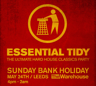Download essential tidy sunday 24th may the warehouse for Classic house music downloads