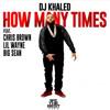 DJ Khaled Ft. Lil Wayne, Big Sean & Chris Brown - How Many Times