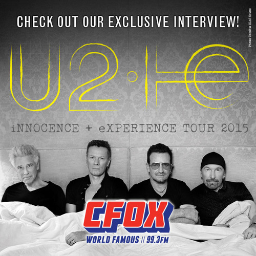 U2 Takes Over CFOX by CFOX on SoundCloud - Hear the world's