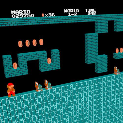 Super Mario Bros. - Underground Theme (Remix) [Arachno SoundFont Game MIDI Music] [DOWNLOAD IN DESC]
