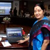 External Affairs Minister launches Official Website of 10th World Hindi Conference (May 16, 2015)