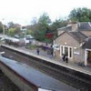 Edinburgh train at Polmont