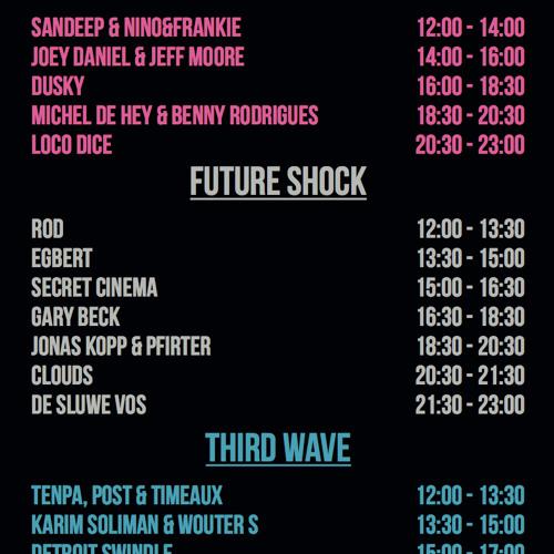 ROD @ Toffler Festival, Rotterdam (16 - 5-2015)