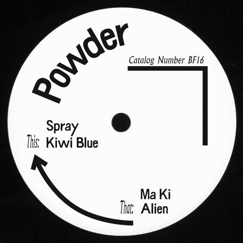 Born Free 16 - a2 - Powder - Kiwi Blue