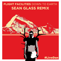 Flight Facilities Down To Earth (Sean Glass Remix) Artwork