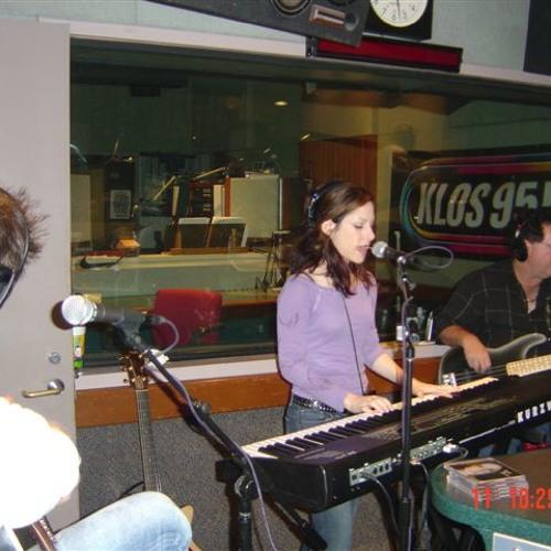 Cindy Alexander LIVE ON KLOS 95.5 Mark & Brian 2005
