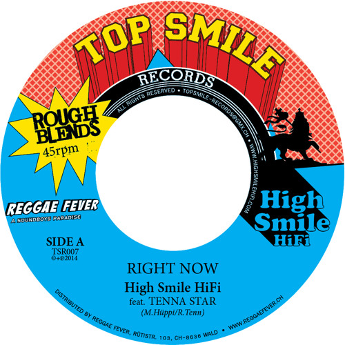 High Smile HiFi feat. Tenna Star/Ras Negus I 'Right Now'/'Family' - PROMO [TSR007]