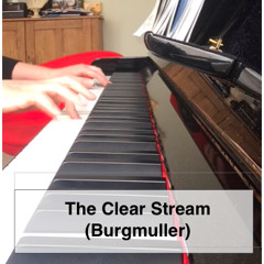 The Clear Stream Op.100, No.7 - Burgmuller