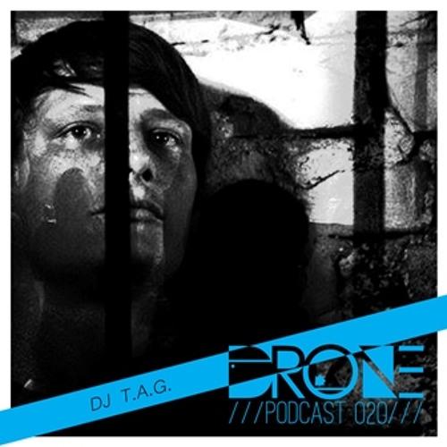 Dj T.A.G / Tresor @ Drone Podcast 020 / France(Only Vinyl Mix)