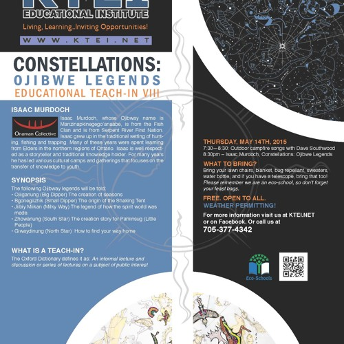Constellations: Ojibwe Legends Educational Teach-In VIII