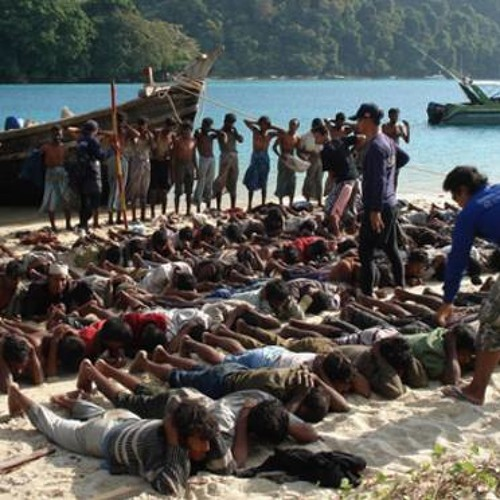 Marcus Hampson on the 8000 Rohingyan asylum seekers stranded in the Malacca Straits - 18th May 2015