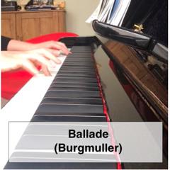 Ballade Op.100, No.15 - Burgmuller