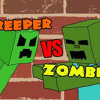 Minecraft Rap Battle - Creeper Vs. Zombie [JT Machinima And Brysi]