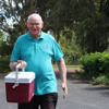 75 year old volunteer doesn't miss a day for 3 years straight