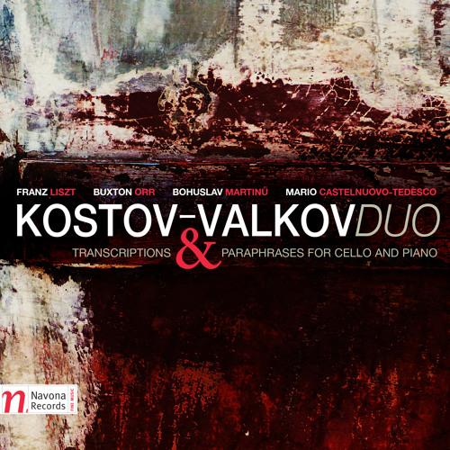 Kostov-Valkov Duo - TRANSCRIPTIONS AND PARAPHRASES FOR CELLO AND PIANO