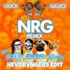 Duck Sauce, Skrillex, Kill The Noise, Milo  Otis - NRG (HEVDBVNGERS Trap Edit)