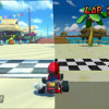 Mario Kart Cheep Cheep Beach - DS & 8 Mashup