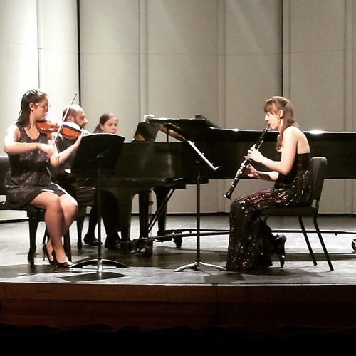 Khachaturian Trio for Clarinet, Violin, and Piano - III. Moderato