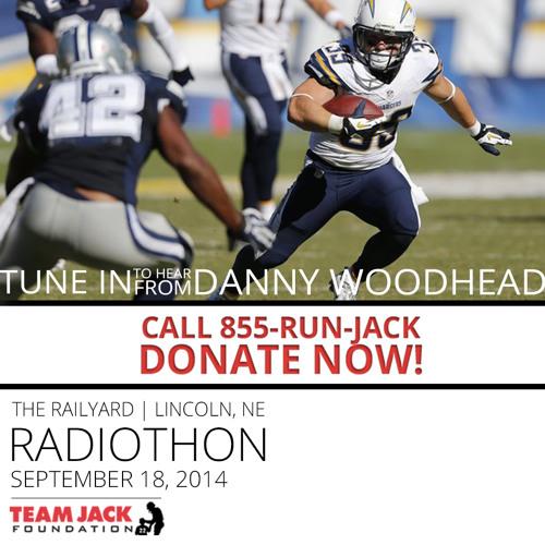 Danny Woodhead 2nd Annual Team Jack Radiothon Interview