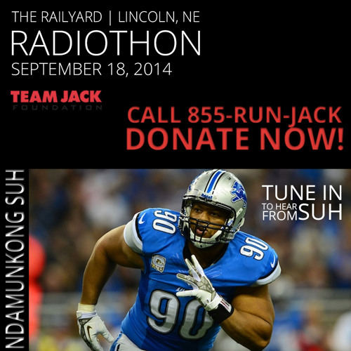 Ndamukong Suh 2nd Annual Team Jack Radiothon Interview