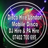 Disco Hire London DJ Hire & Mobile Disco Hire For Parties