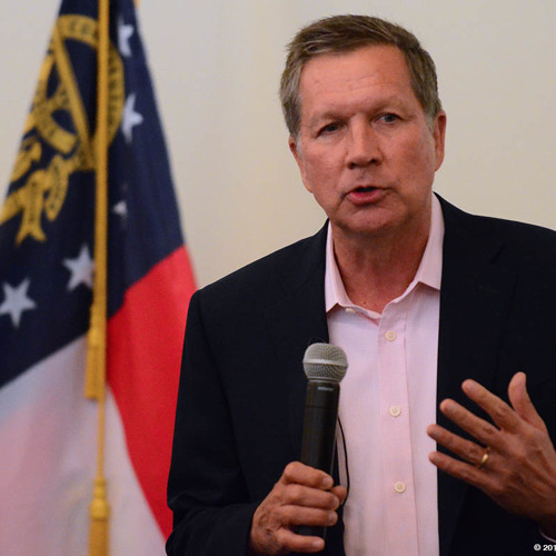 John Kasich at the Fulton GOP luncheon May 26, 2015
