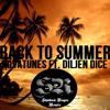 Novatunes Ft. Diljen Dice - Back To Summer (Shadow Rogue Remix)