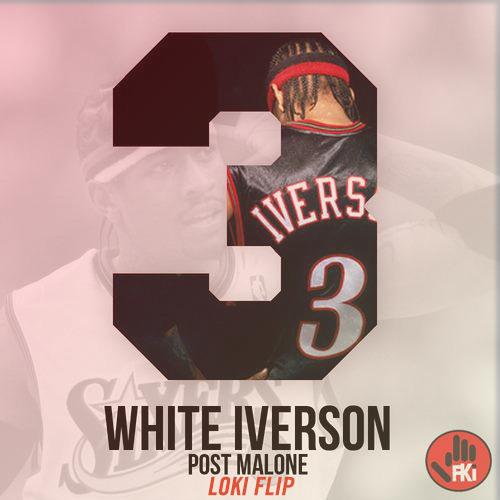 Post Malone White Iverson Loki Flip Ragejunkiecom Premiere By