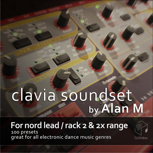 Alan-M Nord Lead 2X V1.0 Trance and Dubstep Patches