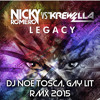 N. R. Feat. K. - Legacy (Dj Noe Tosca, Gay Lit Rmx 2015)Snippet