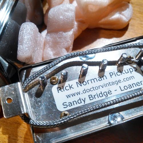Rick Norman Pickups Sandy Pure