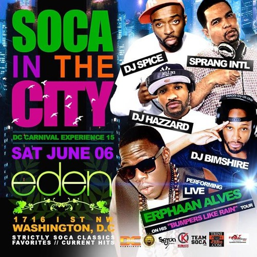 Soca In The City (Promo Mix 2015)