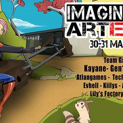 Interview de David organisateur du salon Imagination Art Expo 2015