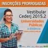 Vestibular Cederj - Spot2: Locução: Samuel Averbug e Wanessa Machado/Fundação Cecierj