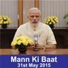 PM Modi's Mann Ki Baat, May 2015