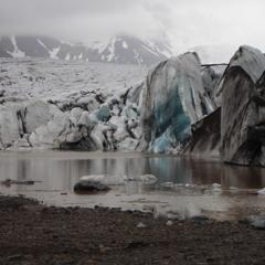 Above the glacier lagoon (Sennheiser MKH20 in AB40)