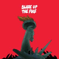 Major Lazer Blaze Up The Fire (Ft. Chronixx) Artwork