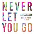 Rudimental Never Let You Go (Don Diablo Remix) Artwork