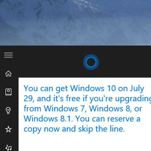 Upgrade to Windows 10 - July 29th