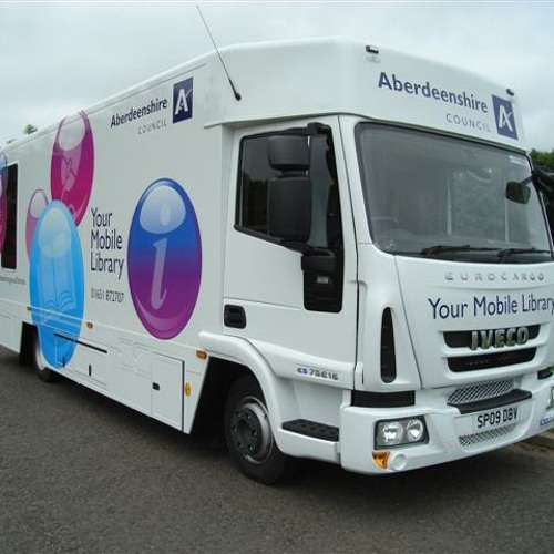 Library Van - BBC Radio Scotland - It's witty, couthy and amusing, I promise!