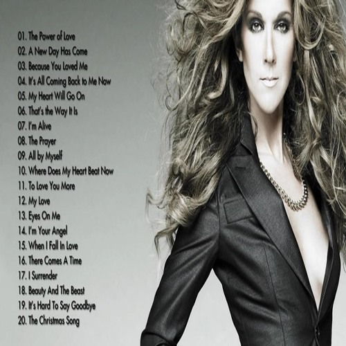 Celine Dion Greatest Hits - Best Songs Of Celine Dion - Full Songs 2015