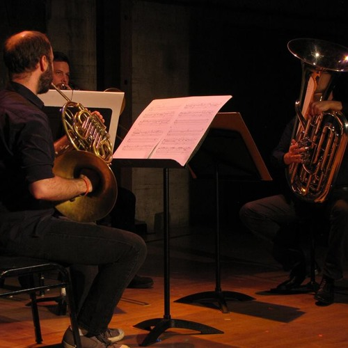 eiszeiten (2015) for horn, trombone, tuba and electronics - first performance