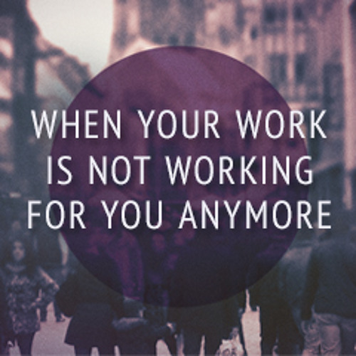 When Your Work Is Not Working For You Anymore By Dr Freddy Boey (31May2015)