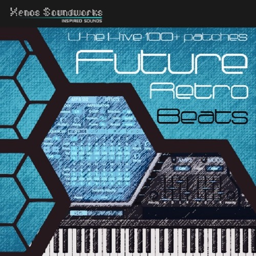 U-he Hive - Future Retro Beats soundset Demo