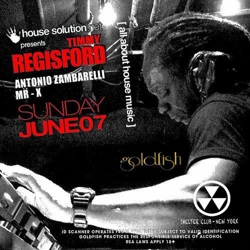 Timmy Regisford Live Mix Part 1