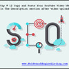 YouTube Video SEO Tip 12 Copy And Paste Video Url In Description.mp3